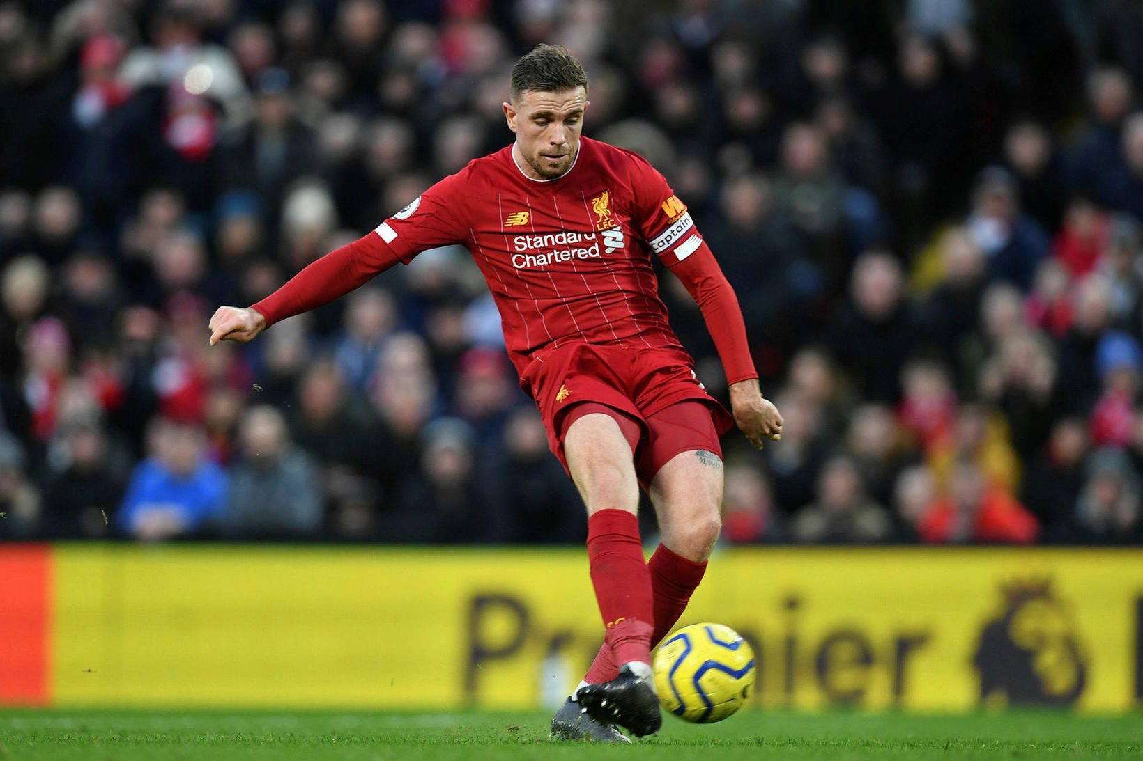 Jordan Henderson hefur verið einn besti leikmaður Liverpool á tímabilinu.