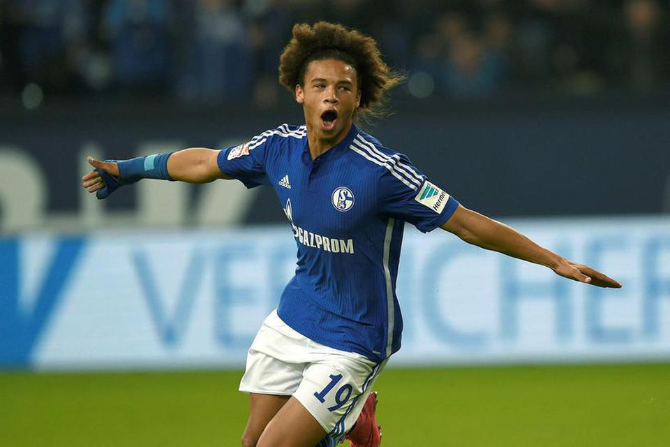 Manchester City keypti Leroy Sane frá Schalke í Þýskalandi fyrir 37 milljónir punda.