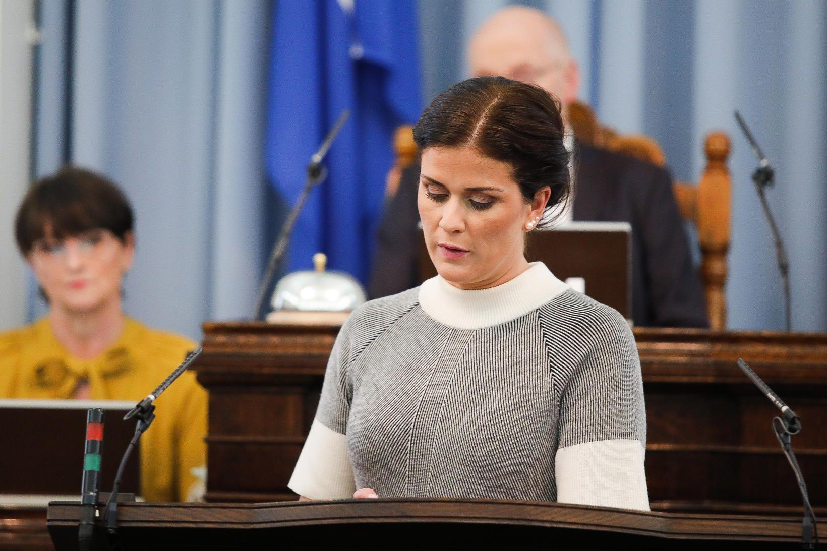Þórdís Kolbrún Reykfjörð Gylfadóttir ferðamálaráðherra.