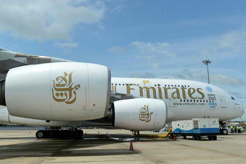 Emirates er stærsta flugfélag Mið-Austurlanda, en tap félagsins frá mars fram í september nam 3,4 …