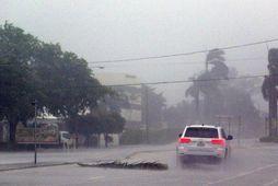 Fellibylurinn Irma í Boca Raton á Flórída.