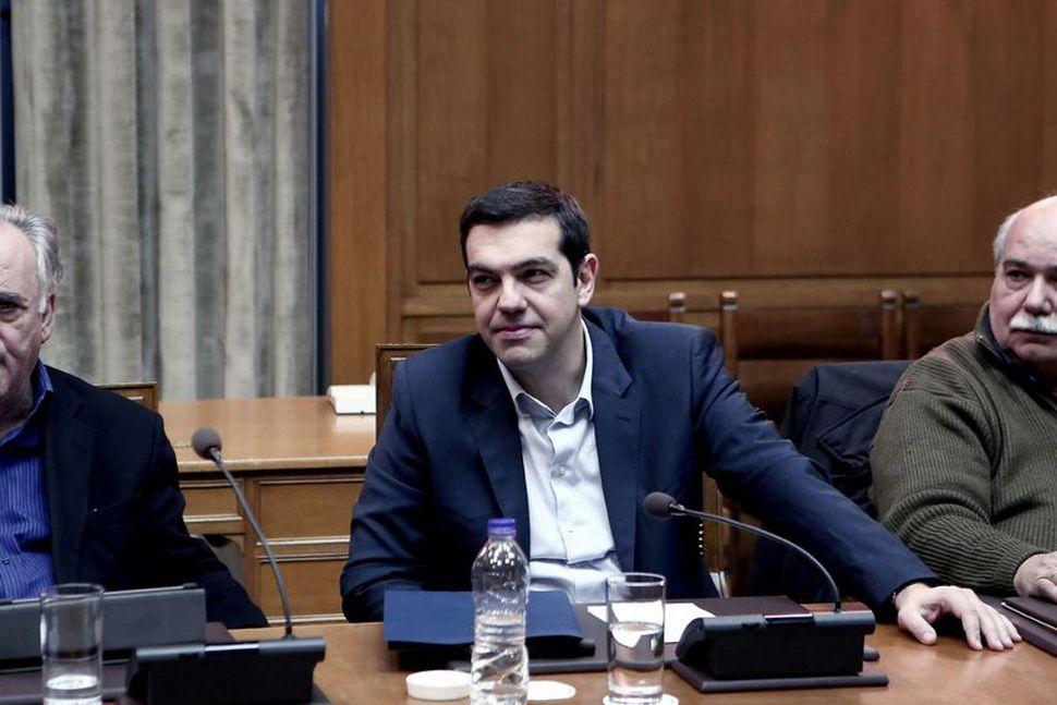 Forsætisráðherra Grikklands, Alexis Tsipras.