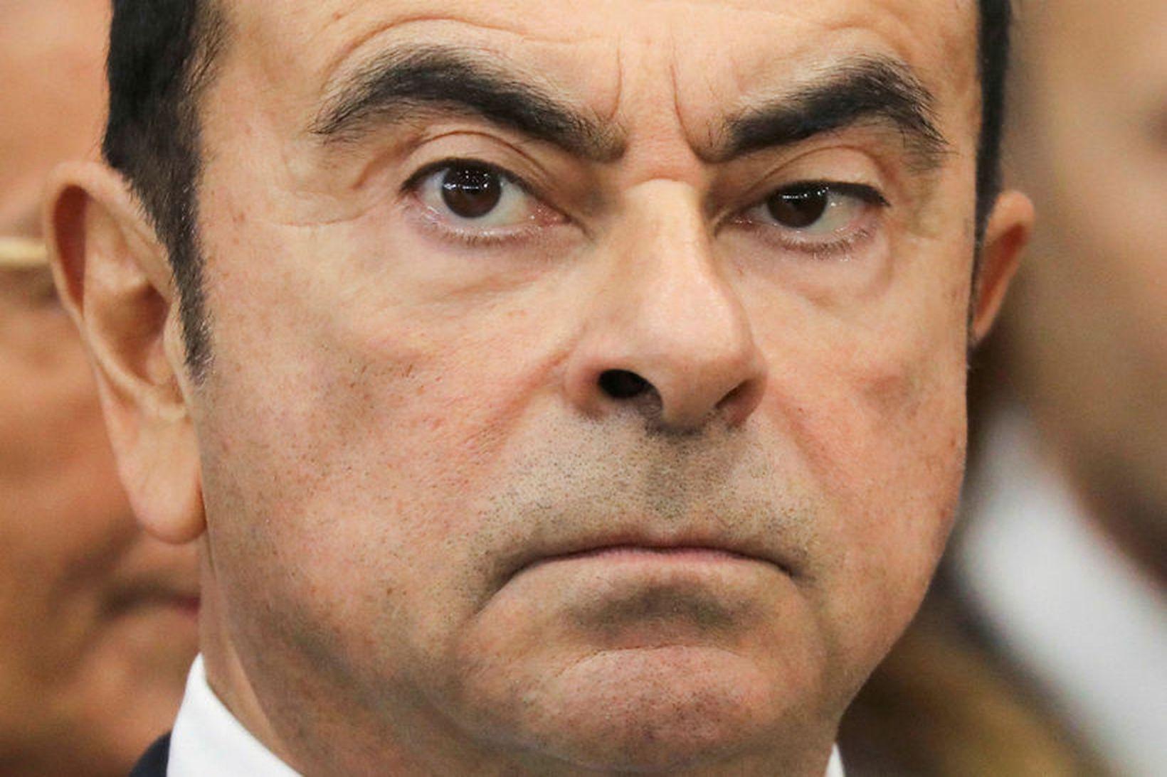 Carlos Ghosn, fyrrverandi stjórnarformaður Nissan, segist saklaus af ákærunum. Þær …