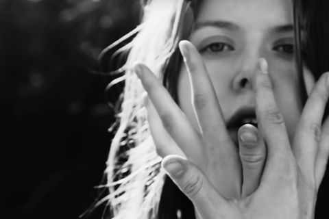 Jófríður Ákadóttir in a video for her song Instant Patience.