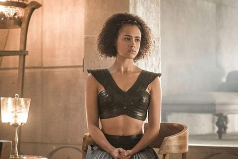 Nathalie Emmanuel í Game of Thrones.