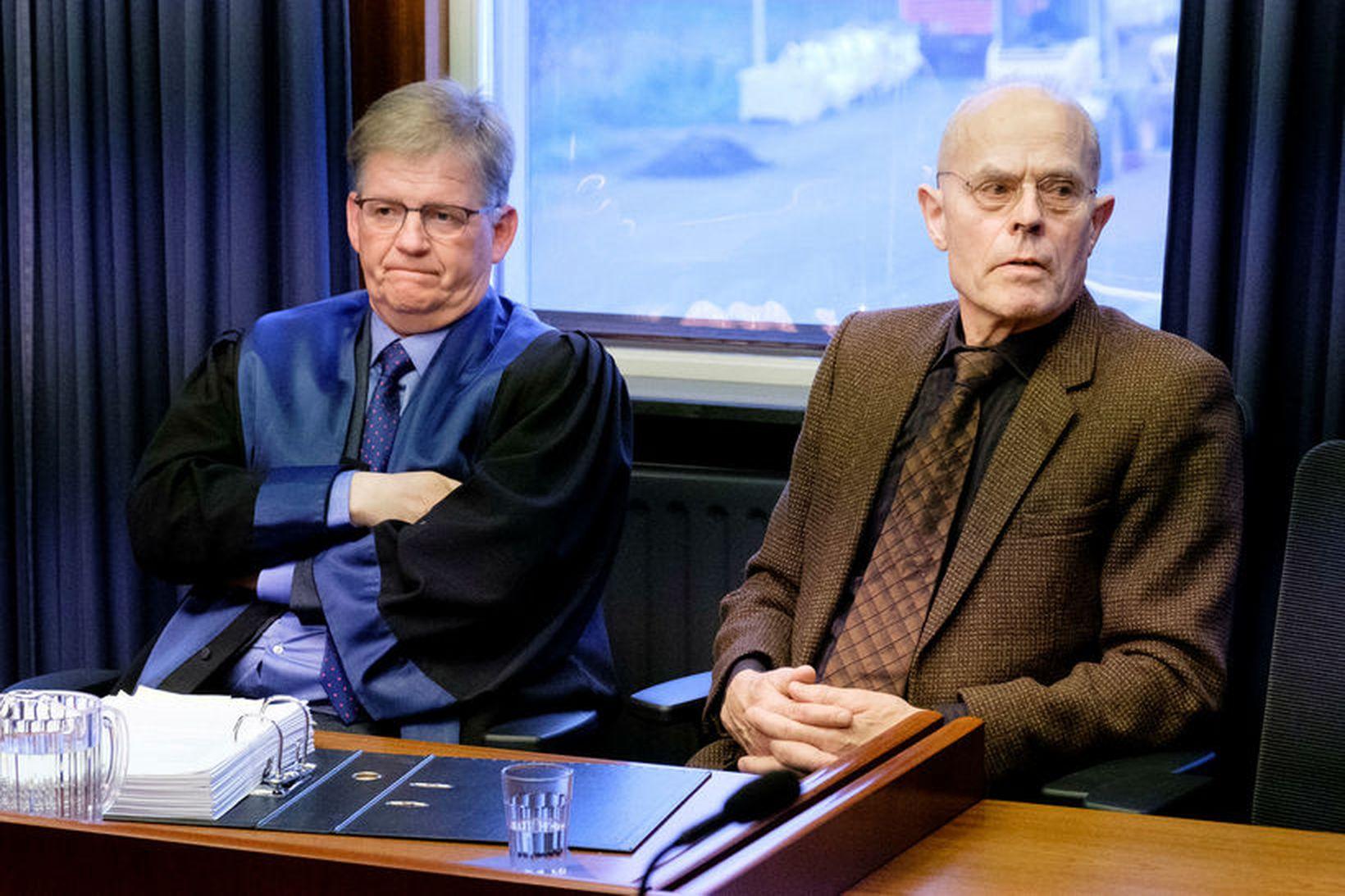 Máli Vals Lýðssonar (t.h.) hefur verið áfrýjað til Landsréttar.
