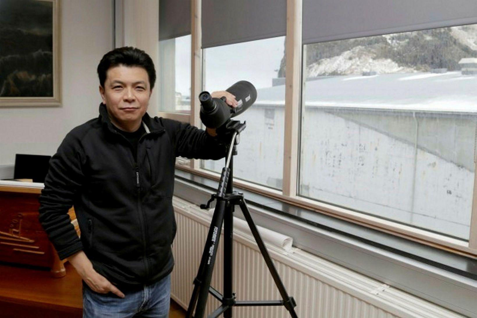 Sölustjóri vinnslustöðvarinnar í Japan Yohei Kitayama segir faraldurinn hafa haft …