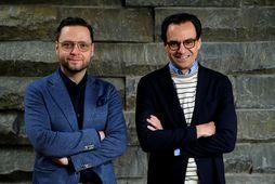 Vilhjálmur Svan Vilhjálmsson og Pétur Ívarsson.