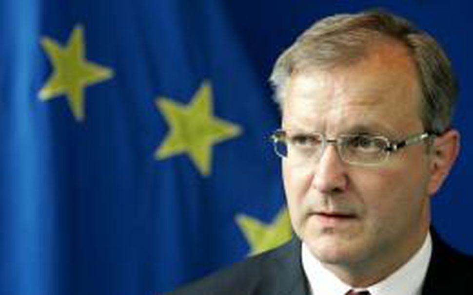 Olli Rehn, sem fer með stækkunarmál ESB