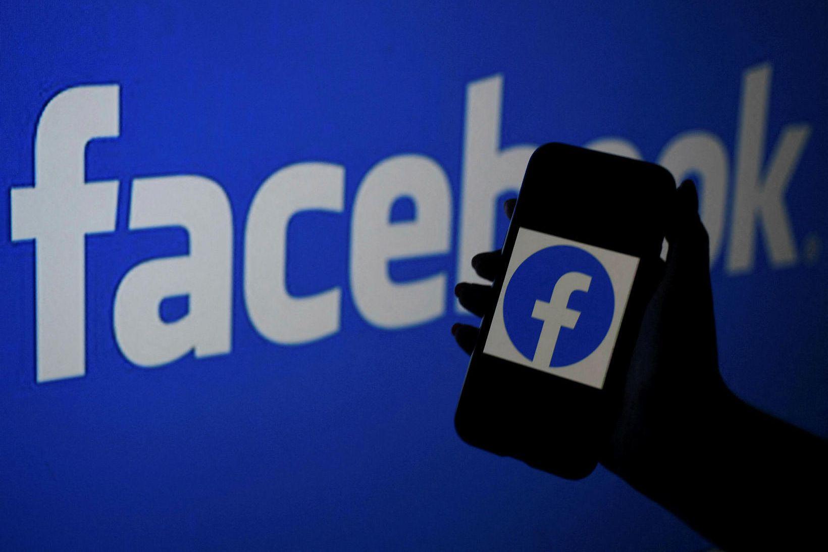 Facebook, Messenger og Instagram virka ekki.