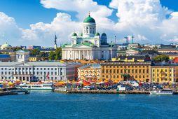 Frá Helsinki, höfuðborg Finnlands.