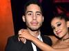 Ariana Grande og kærastinn hennar á meðan allt lék í lyndi.