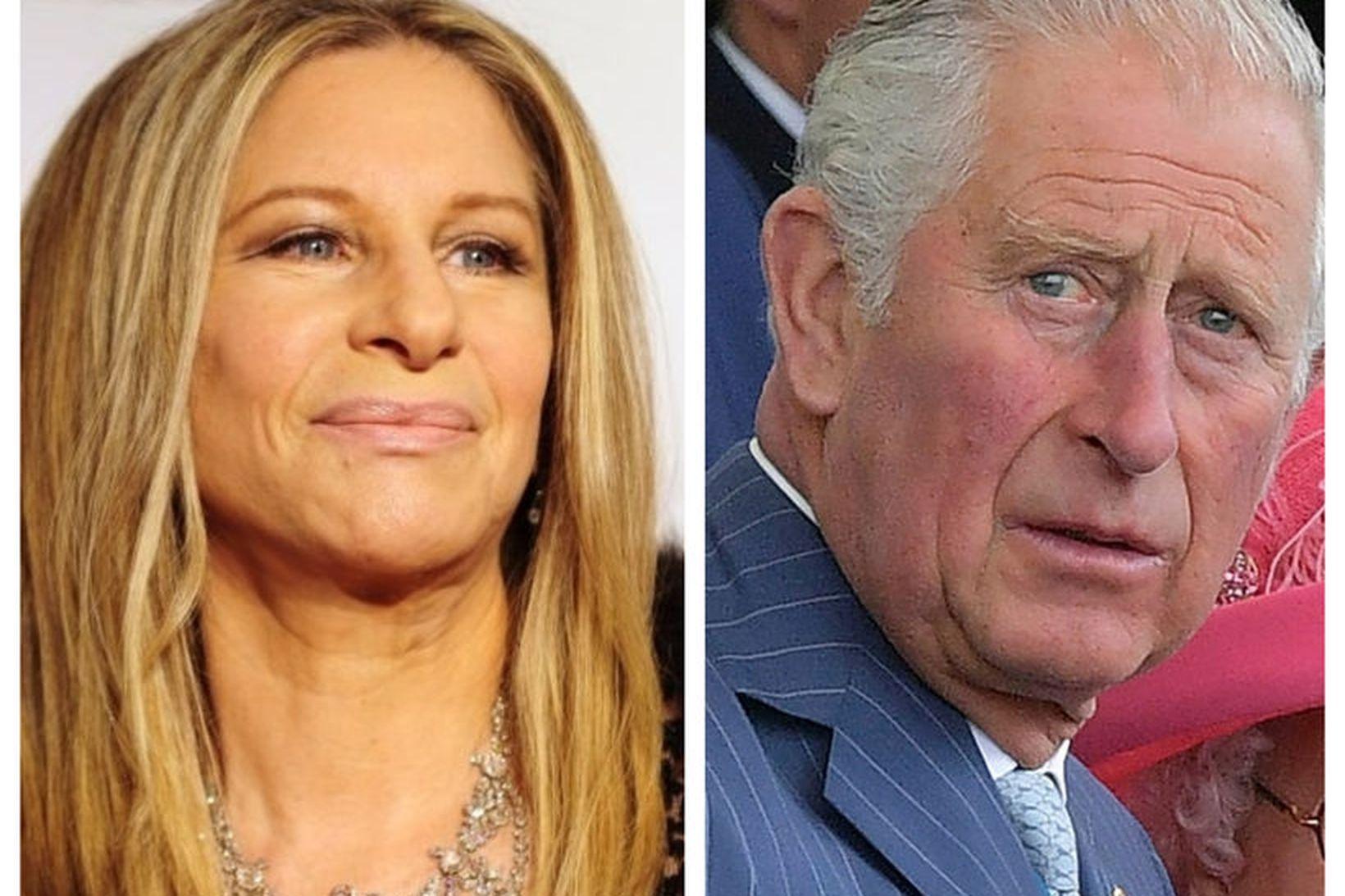 Barbra Streisand og Karl Bretaprins voru sögð hafa átt í …