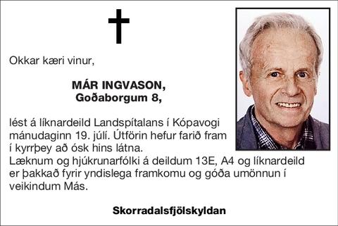 Már Ingvason,