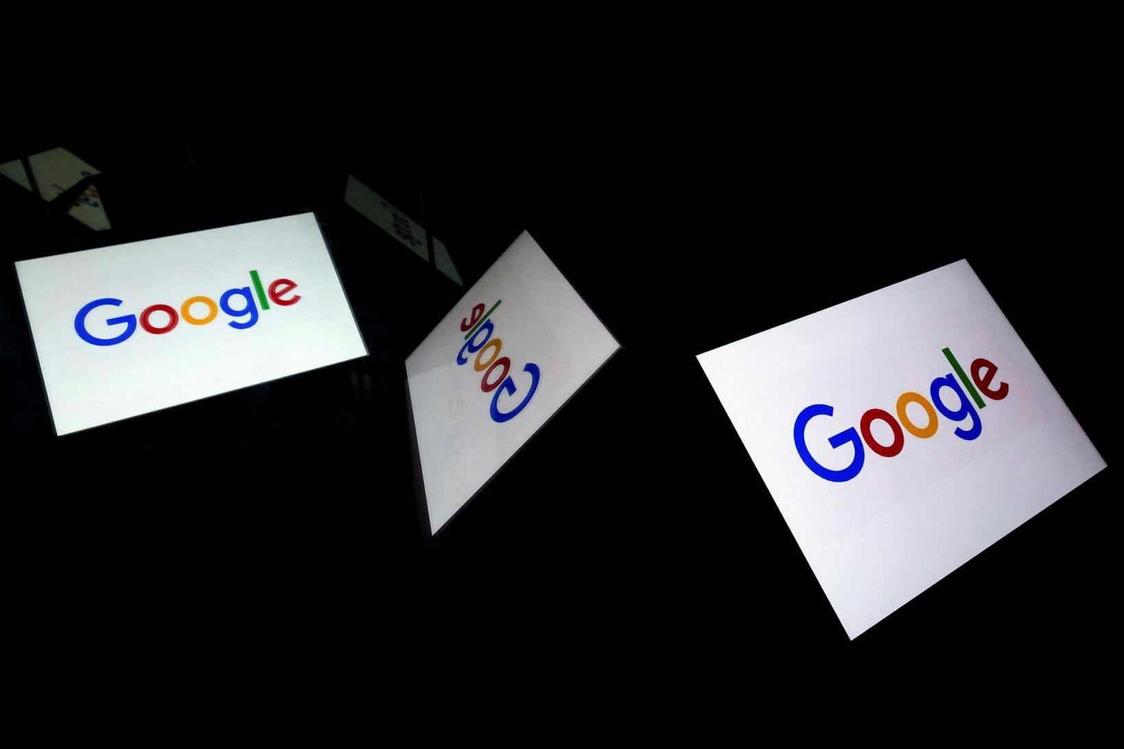 Google fékk 135 milljón króna sekt frá franska netöryggisráðinu í …