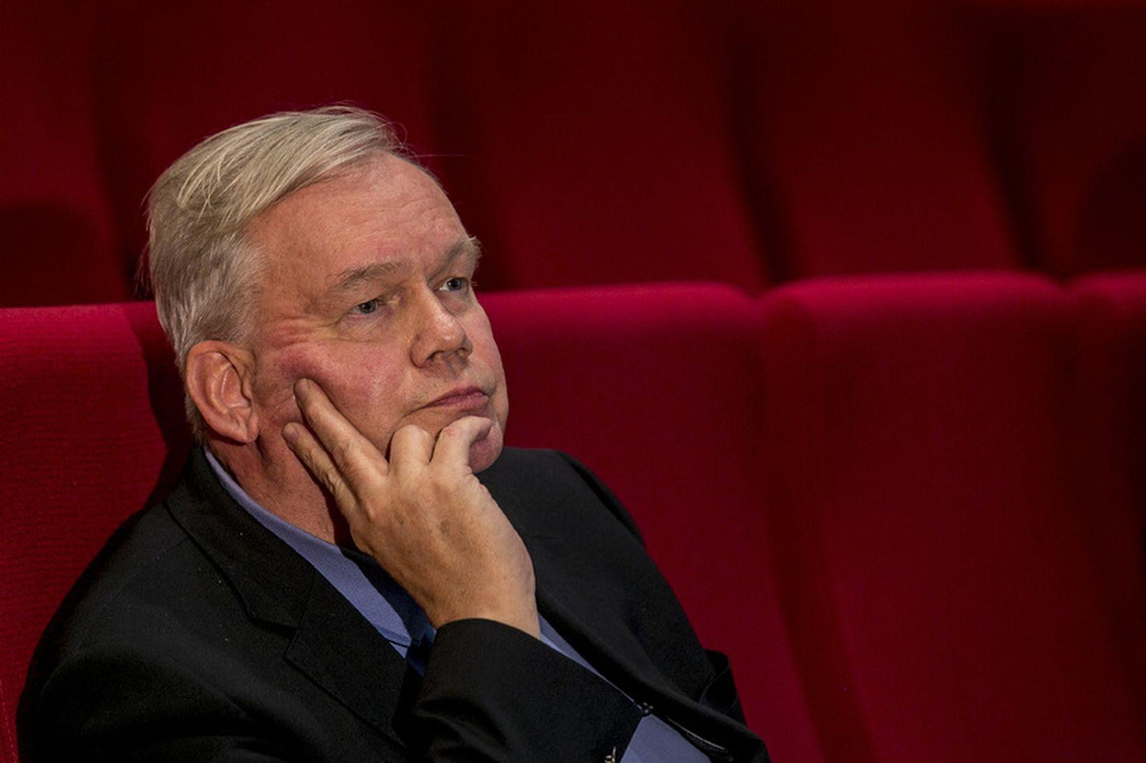 Hannes Hólmsteinn Gissurarson, stjórnmálafræðiprófessor við Háskóla Íslands.
