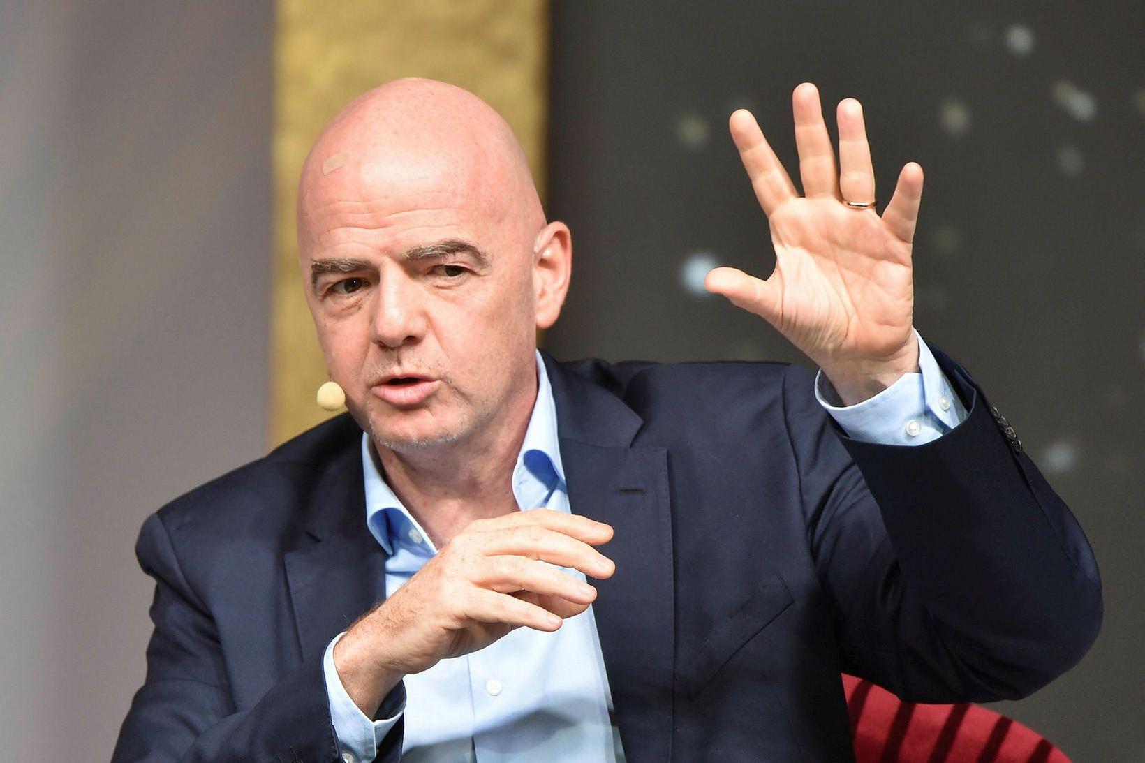Gianni Infantino, forseti FIFA.