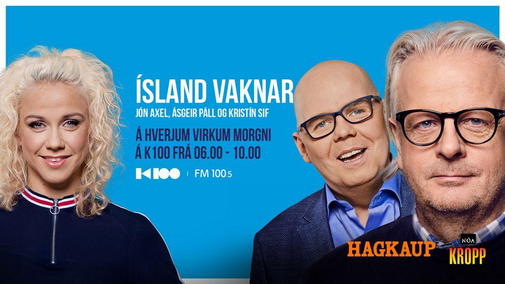 Ellý Ármanns spáði fyrir hlustendum Ísland vaknar seinni hluti