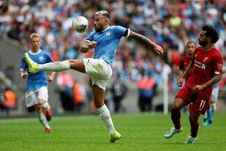 Manchester City og Liverpool eru tvö bestu lið Englands í dag.