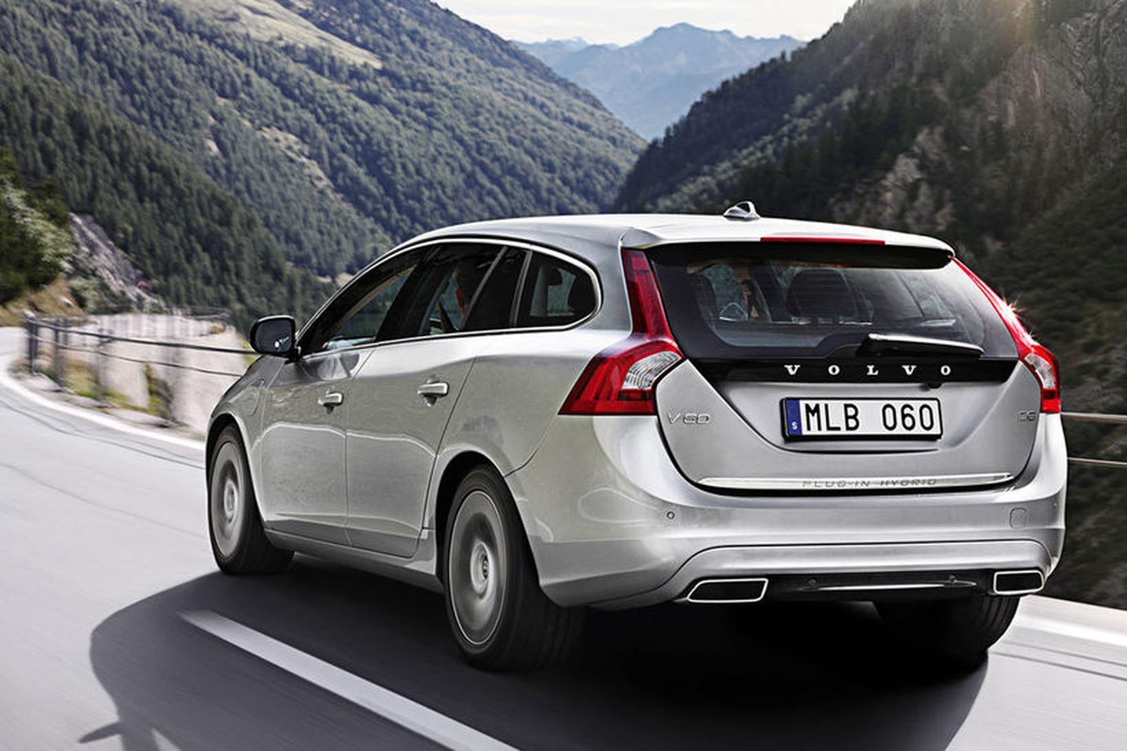 Volvo V60 er meðal þeirra tegunda sem hafa verið kallaðar …