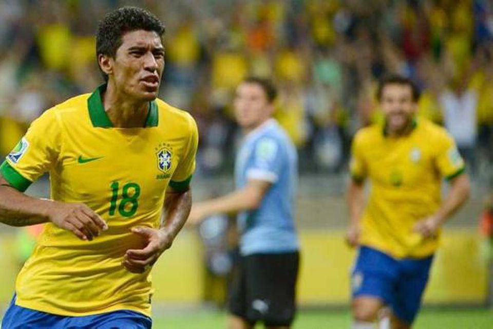 Paulinho er kominn til liðs við Tottenham sem keypti hann af Corinthians fyrir 17 milljónir …