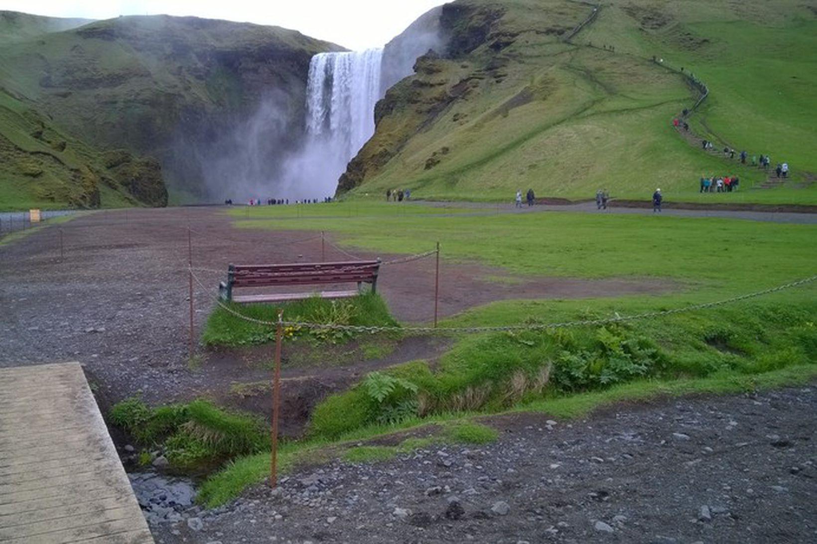 Svæðið þolir ekki lengur átroðning ferðamanna.