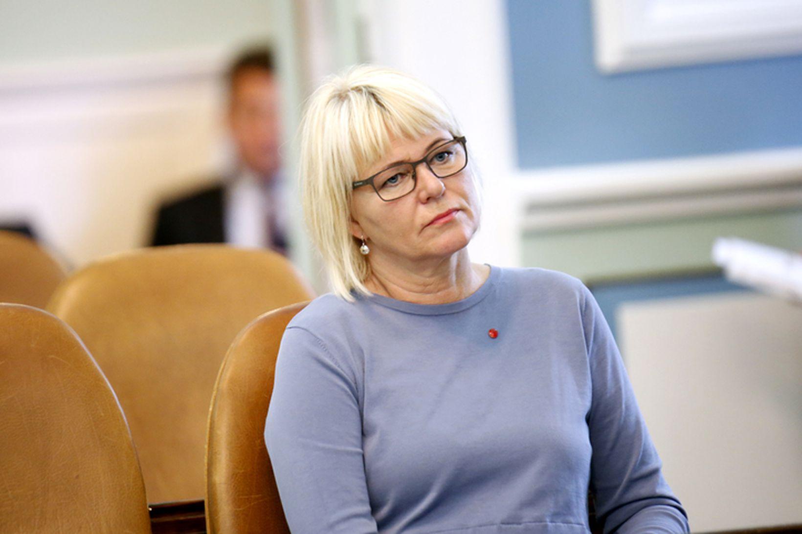Oddný G. Harðardóttir, formaður Samfylkingarinnar, segir Brexit áhyggjuefni.