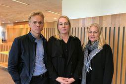 Fjölskylda Tryggva Rúnars Leifssonar: Tryggvi Rúnar Brynjarsson, Kristín Anna Tryggvadóttir og Sjöfn Sigurbjörnsdóttir.