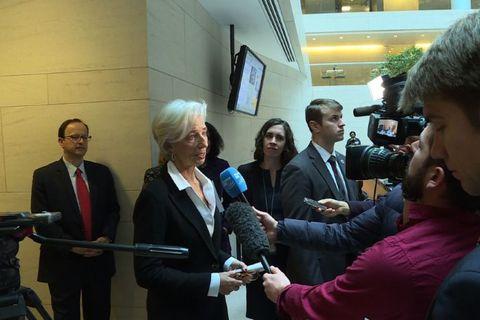 Lagarde endurkjörin hjá AGS