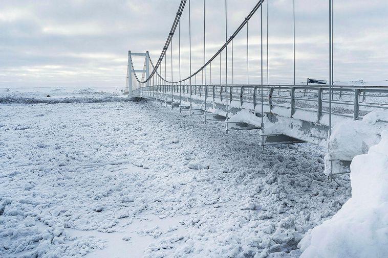 The bridge over Jökulsá á Fjöllum.