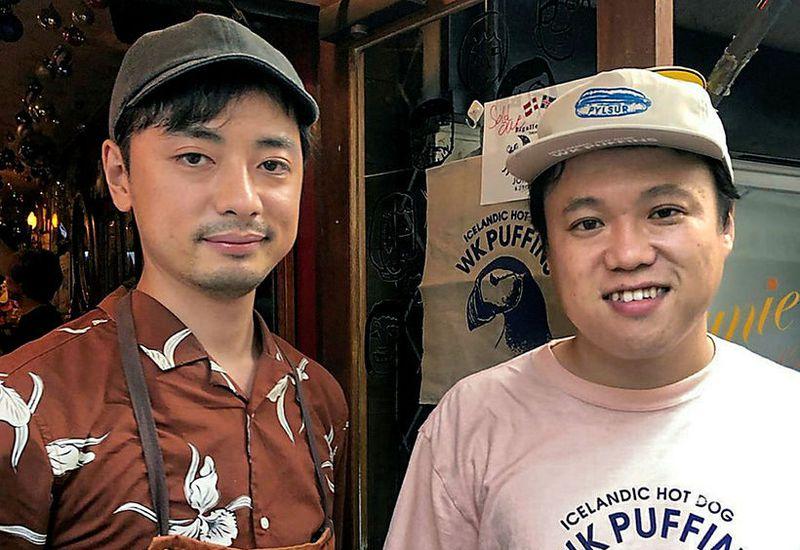 Koichi Hirano and Watari Takano.