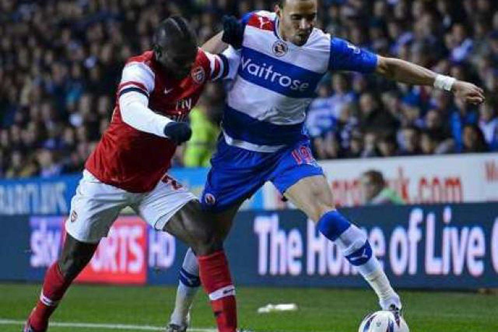 Emmanuel Frimpong í leik gegn Reading í deildabikarnum.