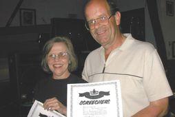 Diane og Nick Marson kynntust á flugvellinum í Gander á Nýfundnalandi 11. september árið 2001.