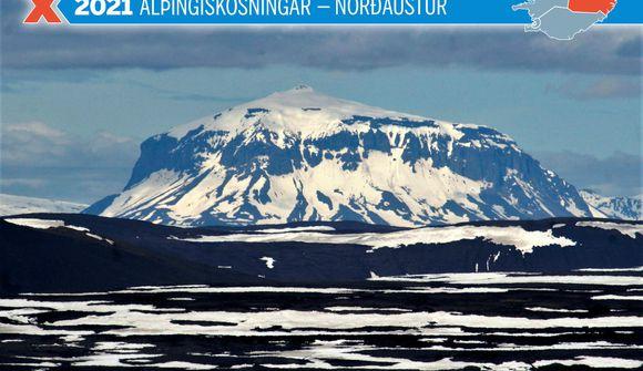 Kjörsókn í Norðausturkjördæmi á pari við árið 2017