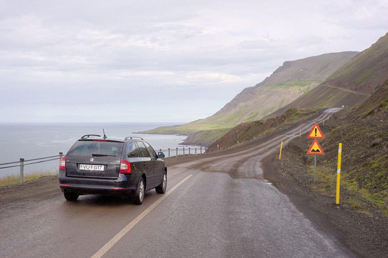 Siglufjarðarvegur.