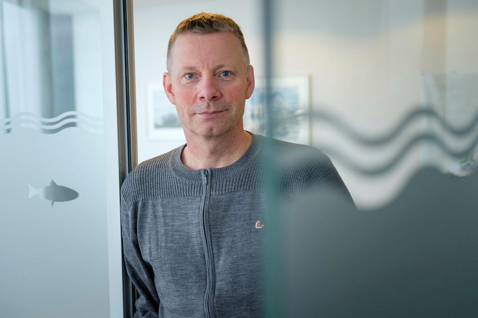 Björn Hembre, forstjóri Arnarlax, segir kaupin styðja áform fyrirtækisins um …