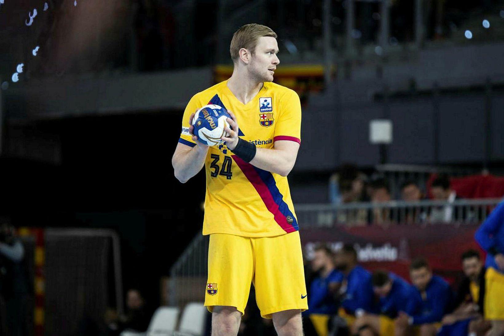 Aron Pálmarsson hefur leikið með Barcelona frá árinu 2017.