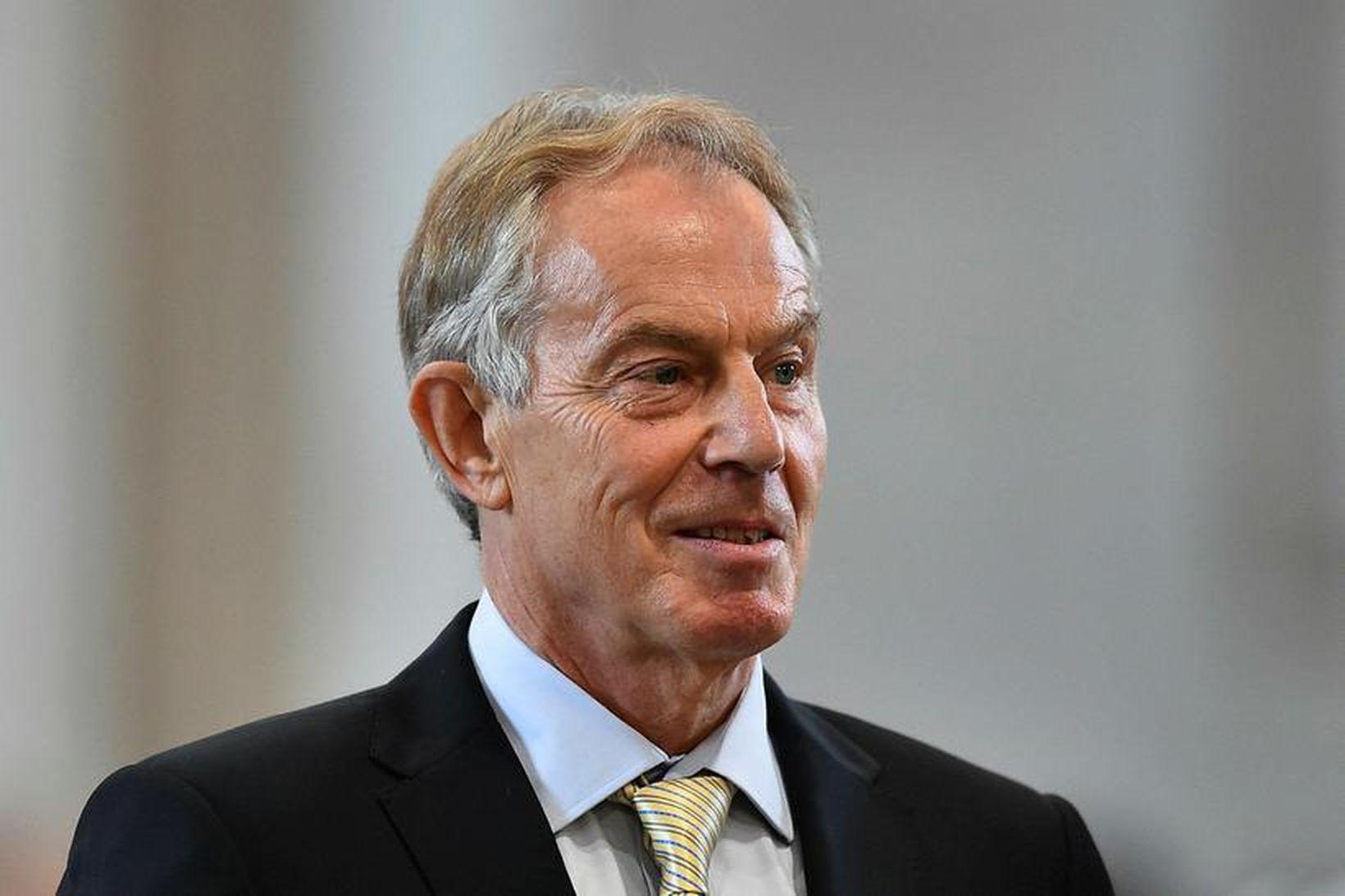 Tony Blair er lítið fyrir heimilisþrif.
