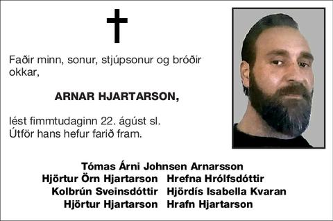 Arnar Hjartarson,