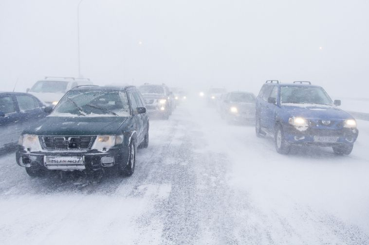 Roads leading out of Reykjavik are becoming difficult to pass.