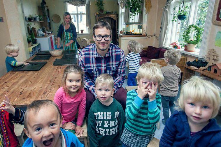 Men make up for only 2% of preschool teachers in Iceland.