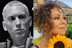 Eminem og Mariah Carey er ekki vel til vina.