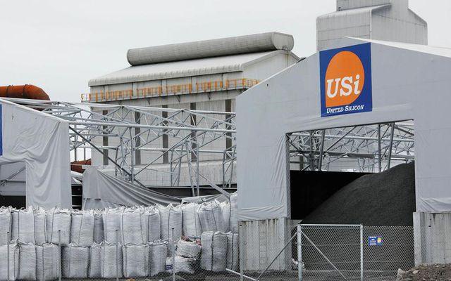 Verksmiðja United Silicon í Helguvík.