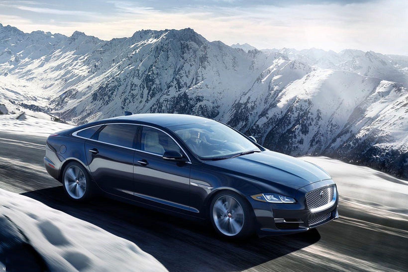 Jaguar XJ hefur runnið skeið sitt á enda.