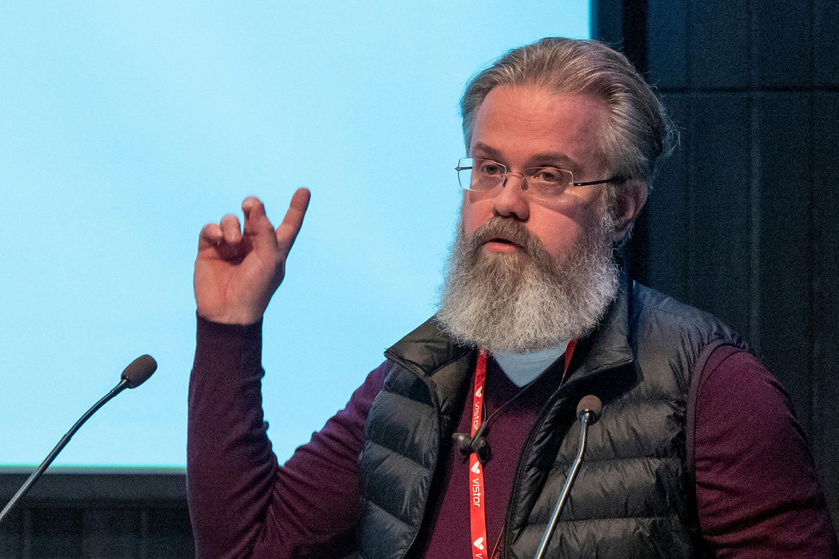 Ingi Steinar Ingason, sviðsstjóri miðstöðvar rafrænna heilbrigðislausna hjá embætti landlæknis