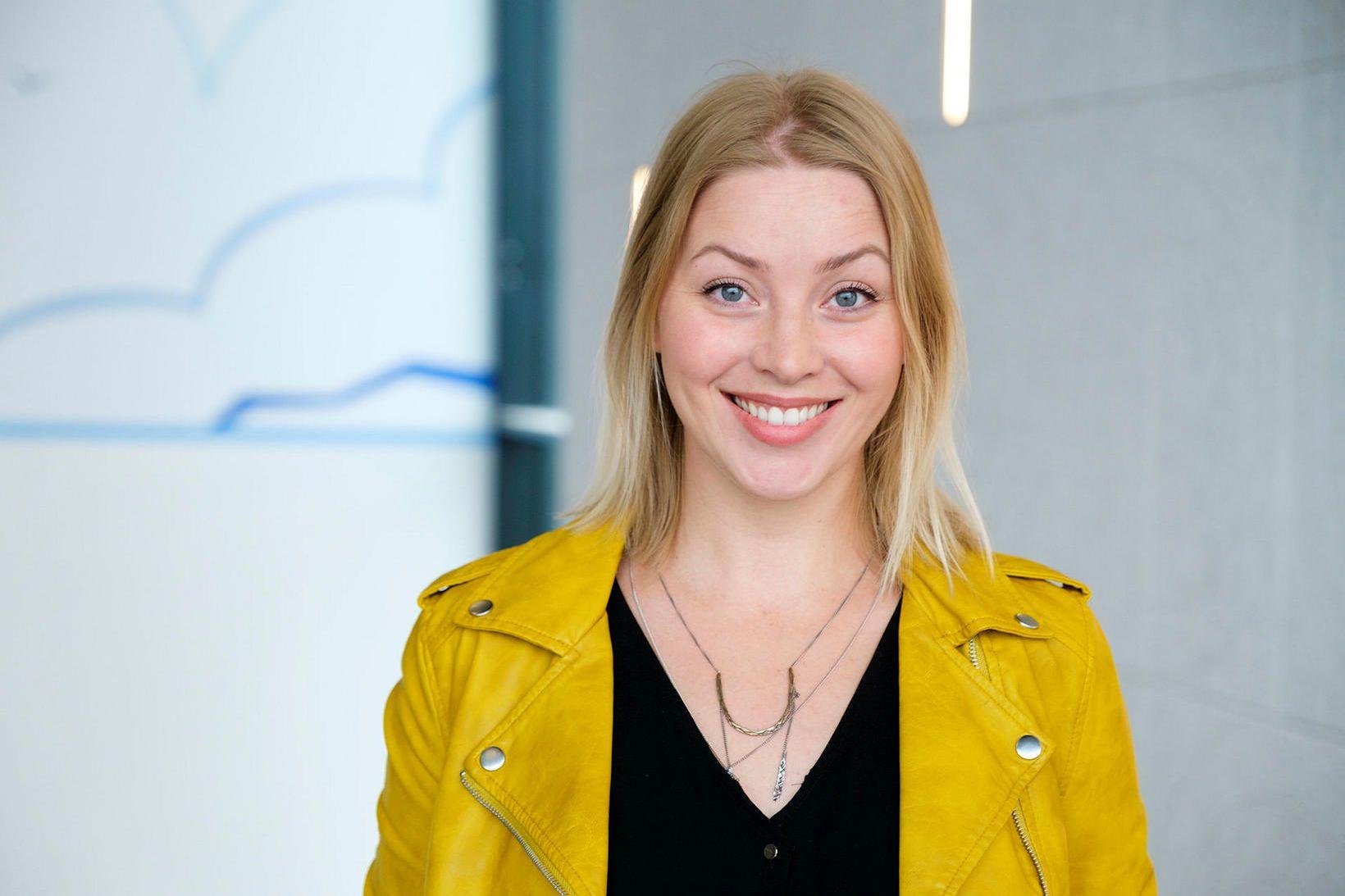 Eva Eiríksdóttir markaðsstjóri Fly Over Iceland.
