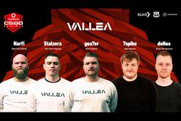 Vallea eru ekki lengur án stiga í Vodafonedeildinni á þessu tímabili.