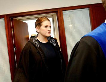 Malín Brand hefur verið dæmd í 12 mánaða fangelsi fyrir fjárkúgun.