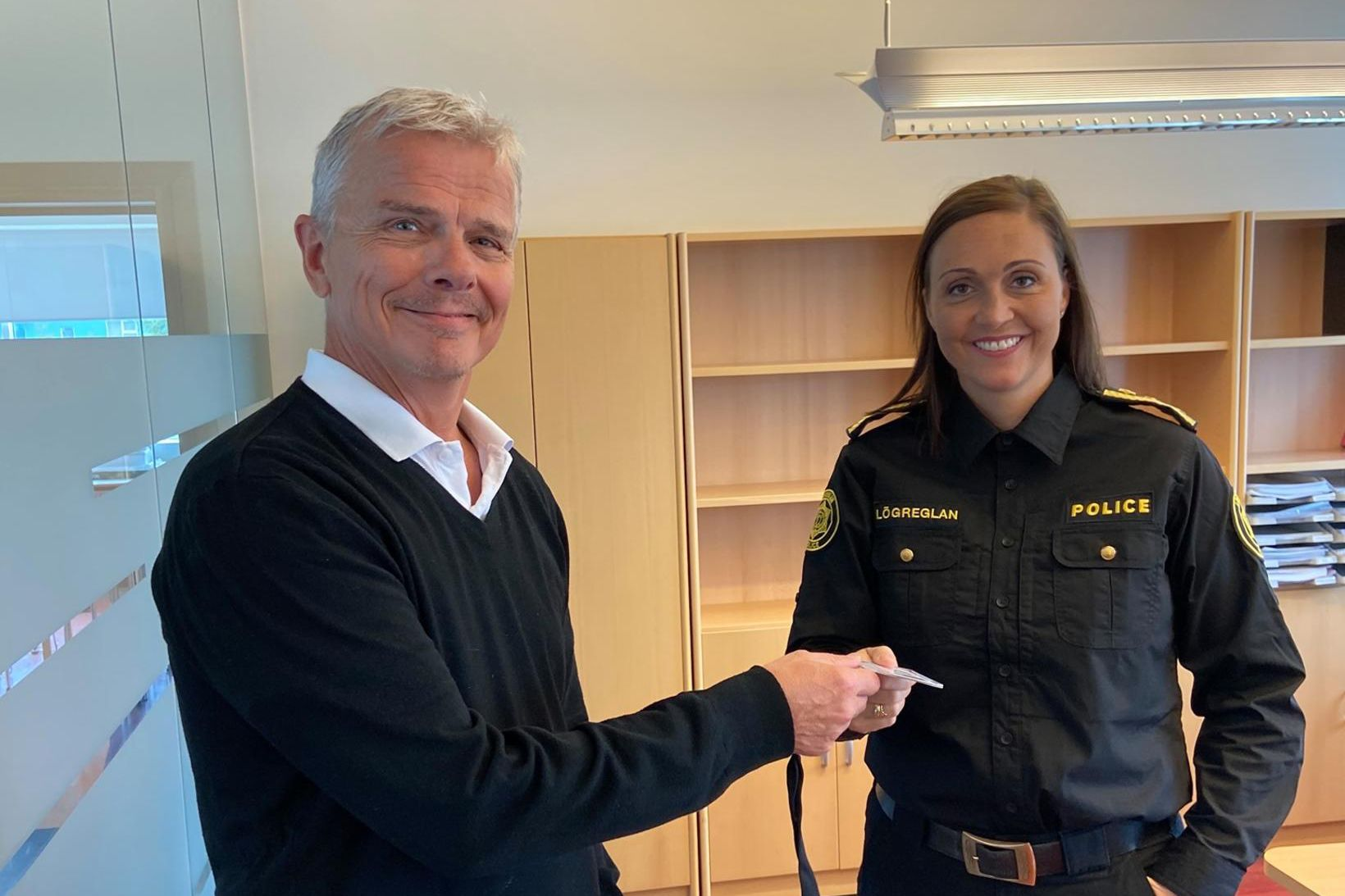 Páley Borgþórsdóttir tók til starfa við embætti lögreglustjórans á Norðurlandi …