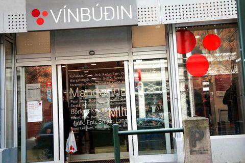 One of Vínbúðin liquor stores.